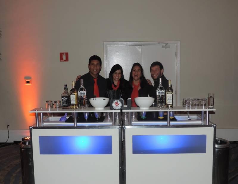 Bartenders para Congressos Alphaville - Bartender para Congresso
