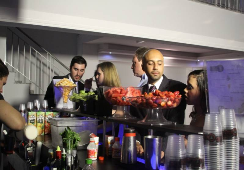 Onde Encontrar Serviço de Bar para Confraternização Liberdade - Bar para Evento Corporativo