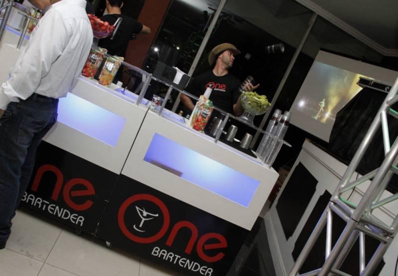 Open Bar de Coquetel Personalizado em Sp Suzano - Serviço de Open Bar para Congresso