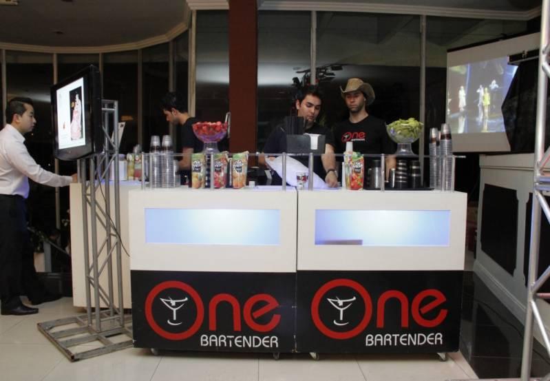 Open Bar de Coquetel Personalizado Vila Carrão - Serviço de Open Bar para Congresso