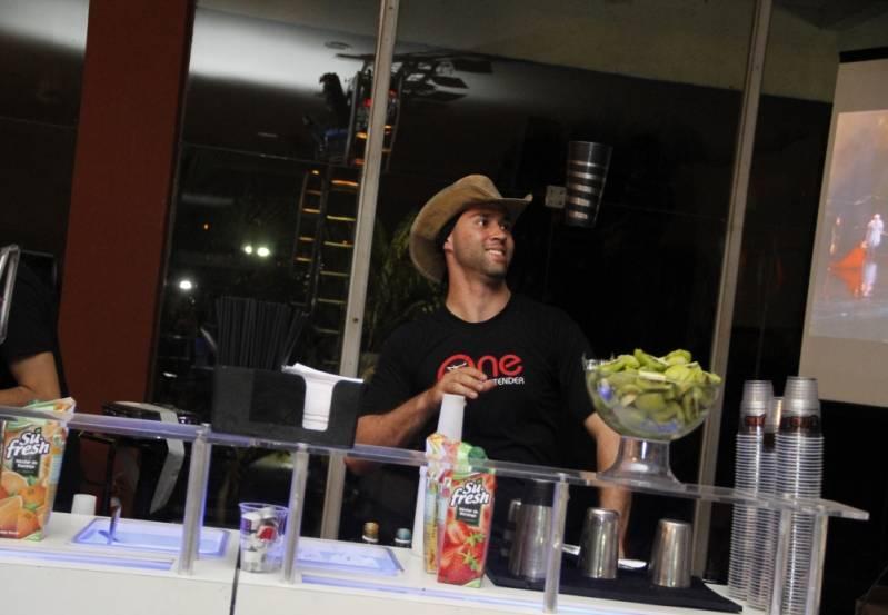 Preço de Open Bar de Coquetel Personalizado Campo Grande - Serviço de Open Bar para Congresso