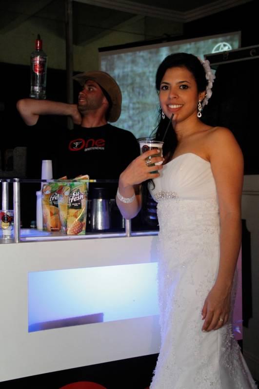 Serviço de Bar de Coquetéis para Casamento Jockey Club - Coquetelaria para Festa