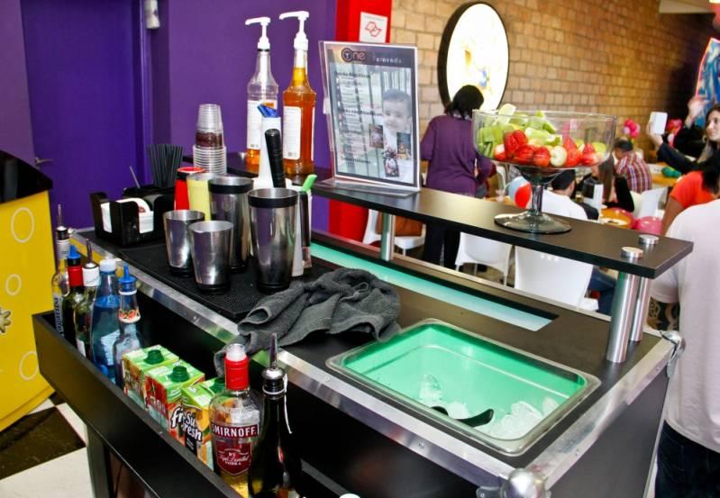 Serviço de Bar para Aniversários Mairiporã - Serviço de Bar para Festa
