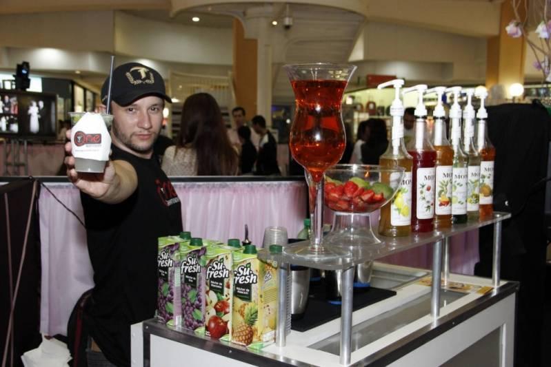 Serviço de Bar para Evento Empresarial Ferraz de Vasconcelos - Bar para Evento Corporativo