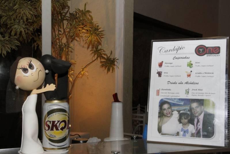 Serviço de Open Bar para Debutante Cachoeirinha - Serviço de Open Bar para Congresso
