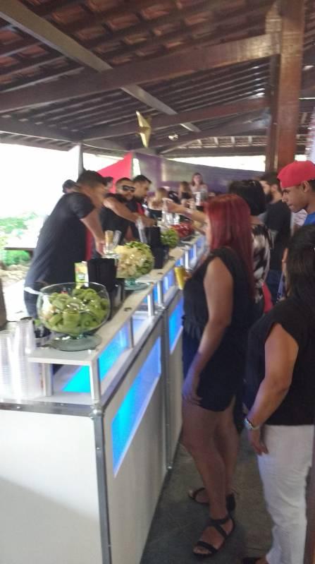Serviços de Bartenders para Casamento Cidade Jardim - Serviço de Bartender para Festa