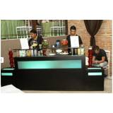 bar para evento corporativo