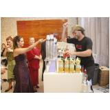 bartender para mini wedding preço Sacomã