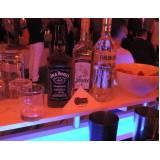 quanto custa bartender para congresso Aeroporto