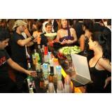 serviço de bar para evento corporativo Vila Curuçá