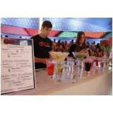 serviço de bar para festa corporativa Parque do Carmo